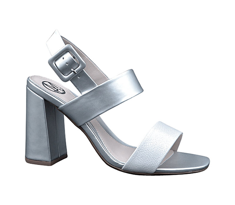 Milly & Co. KYLE Silver Sandals