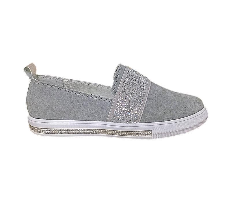 REDZ GS6897 Grey Slip-on sneakers