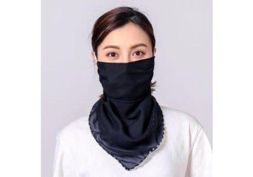 Peach Accessories Peach scarf MASK Plain Black