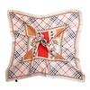 Peach Accessories Peach F665 mixed vintage check scarf
