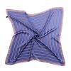 Peach Accessories Peach F667 Blue striped scarf