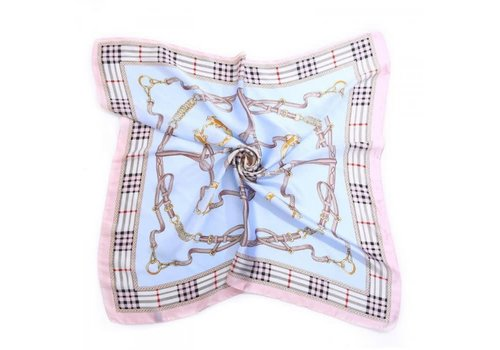Peach Accessories Peach F662 Baby blue scarf