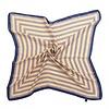 Peach Accessories Peach F667 Beige striped scarf
