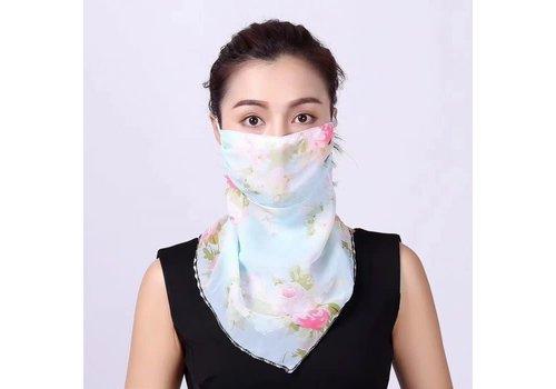 Peach Accessories Peach scarf MASK Pastels
