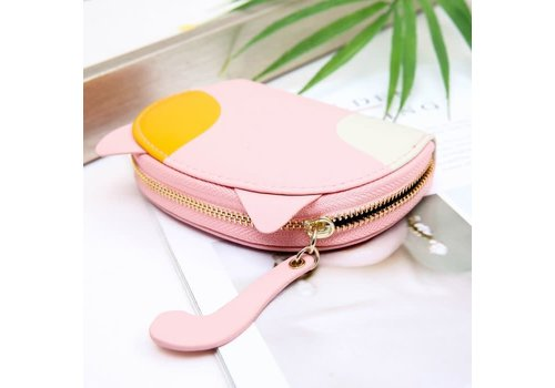 Peach Accessories Peach pur021 Baby pink credit card holder