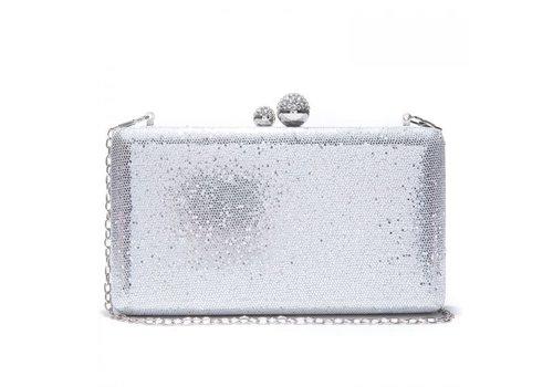 Peach Accessories Peach JH020 Silver clutch