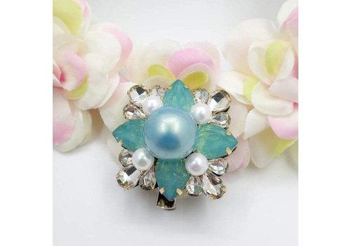 Dr. Bear Accessories Dr.Bear opal diamonte brooch