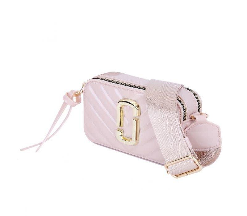 Peach 9021-3 Nude crossbody bag