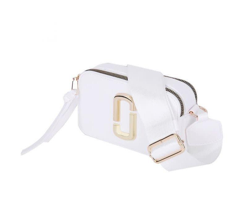 Peach 9021-3 White crossbody bag
