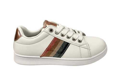 Sprox D.T. New York  B380800 white rainbow sneakers