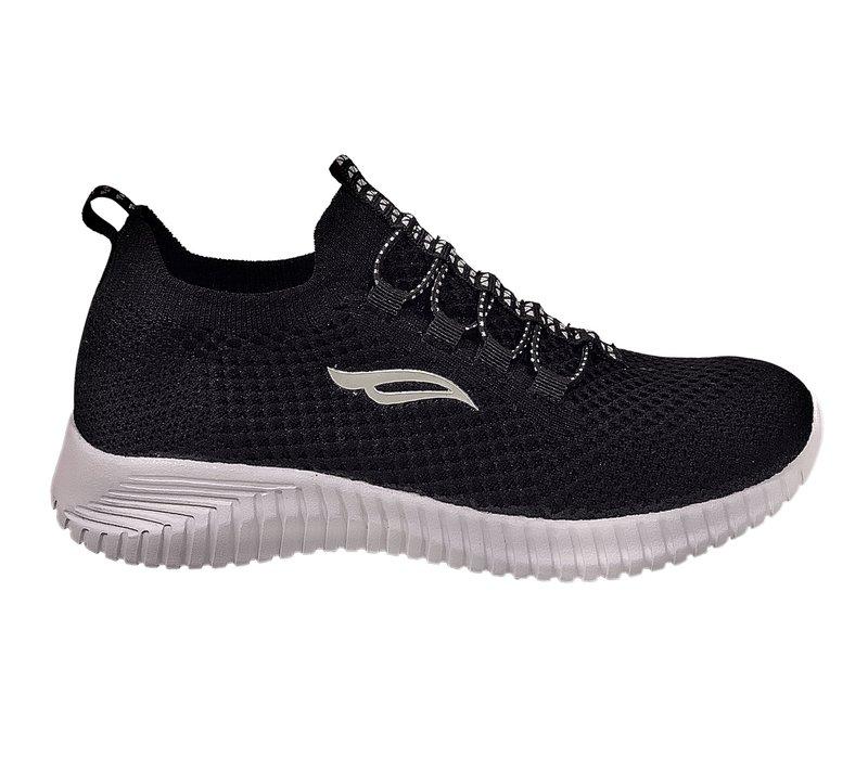 Sprox 455473 Black slip on sneakers