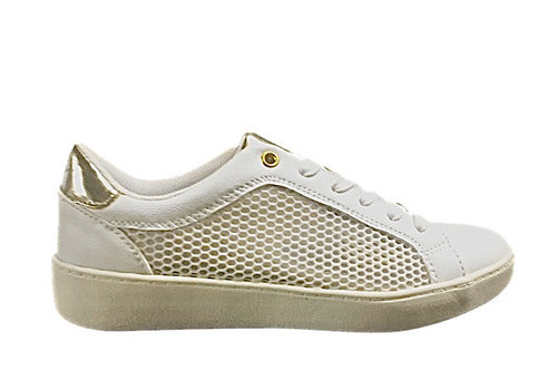 Sprox Sprox 499040 White/Gold Sneakers