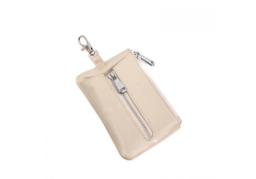 Peach Accessories Peach PUR019 Key purse in Cream