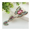 Peach Accessories Peach 8373 Three Butterflies Brooch