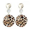 Peach Accessories Peach ER018 Leopard print Earrings