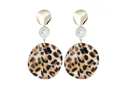 Peach Accessories Peach ER018 Leopard print Earrings