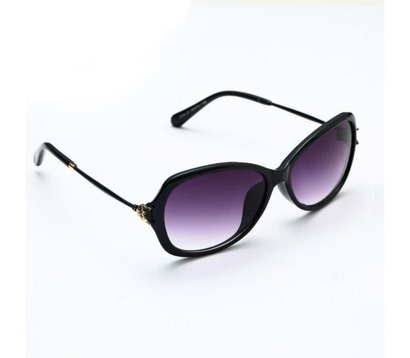Peach 1310-1 Black Sunglasses with Cat