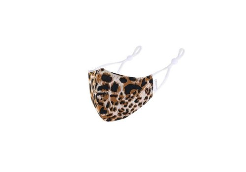Peach Accessories Peach 0005 Brown Leopard Mask