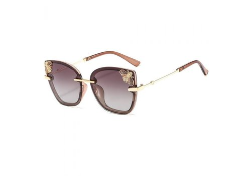 Peach Accessories Peach 449 Jewelled Bee Sunglasses