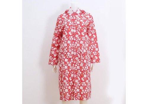 Peach Accessories Peach Red/White Daisy Raincoat