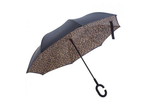 Peach Accessories Peach F716 Leopard print Umbrella