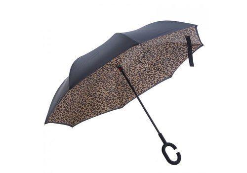 Umbrellas Peach F716 Leopard print Umbrella