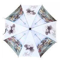 Peach 1583-5 Lady scetch Umbrella