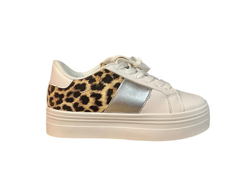 Sprox Sprox B377690 White/Leo/silver Sneakers