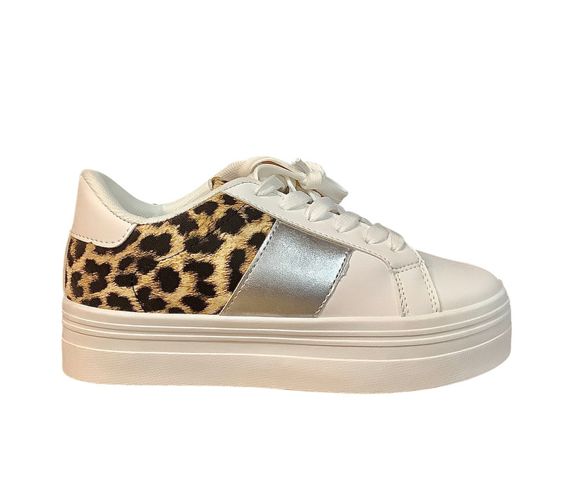 Sprox B377690 White/Leo/silver Sneakers
