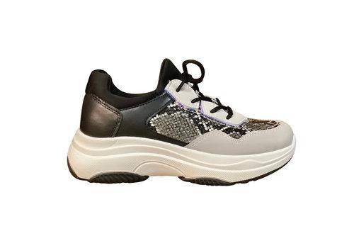 Sprox Sprox B380590 Black Snake Sneakers