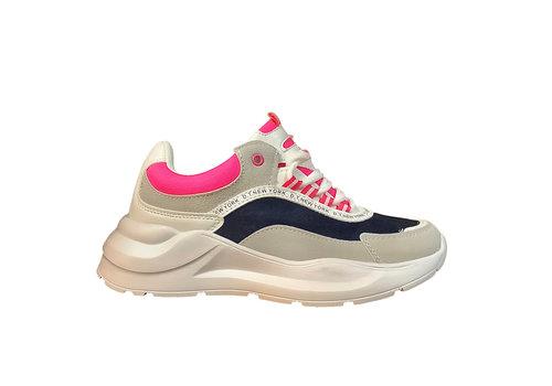 Sprox Sprox B381110 Fuchsia/Navy Sneaker