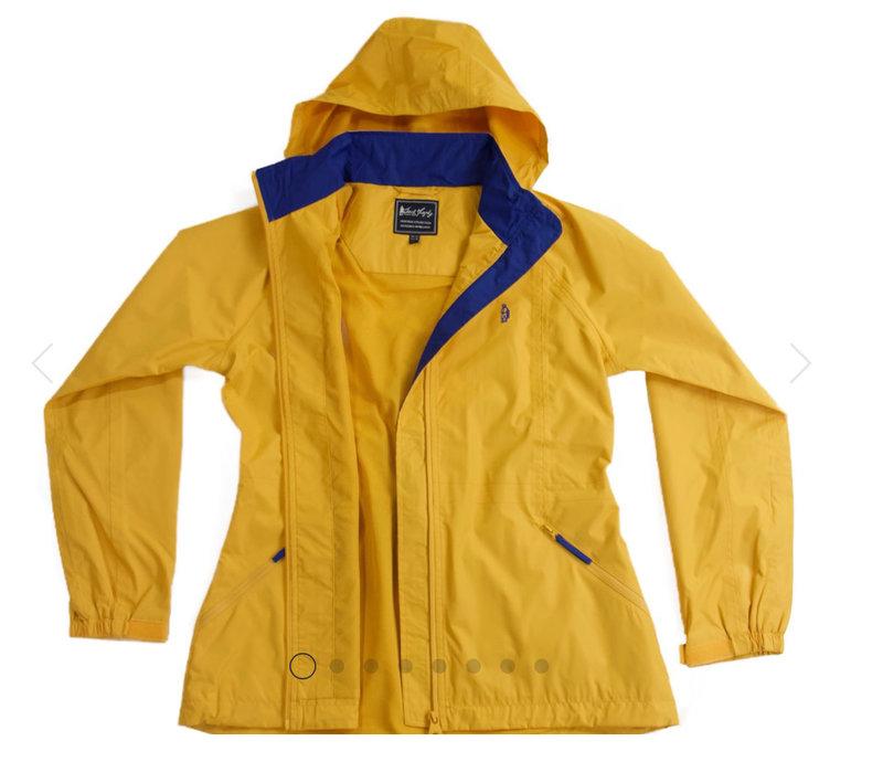 """WILLOW"" Yellow Waterproof Jacket"