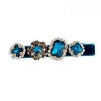 Peach HA204 Blue Hair Clip