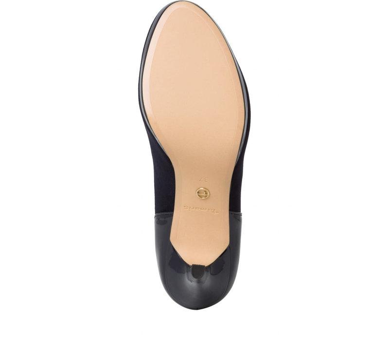 Tamaris 24402 Navy strap shoe