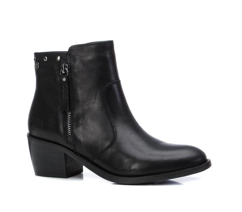 Carmela 67552 Black leather A/Boots