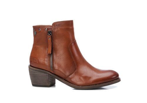 Carmela Carmela 67552 Tan leather A/Boots