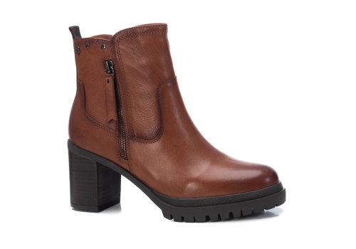 Carmela Carmela 67560 Tan Block Heel A/Boot