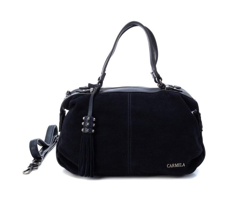 Carmela 86405 Navy Lea/Sue Bag v