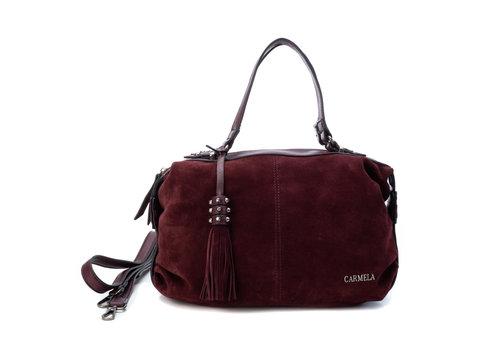 Carmela Carmela 86405 Burgundy double strap
