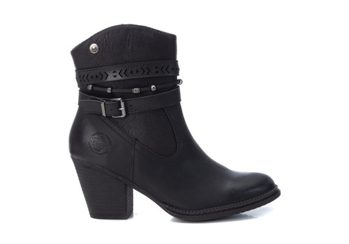 REFRESH A/W Refresh 72360 Black Vegan A/Boots