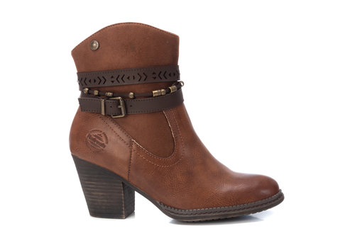 REFRESH A/W Refresh 72360 Tan Vegan A/Boots