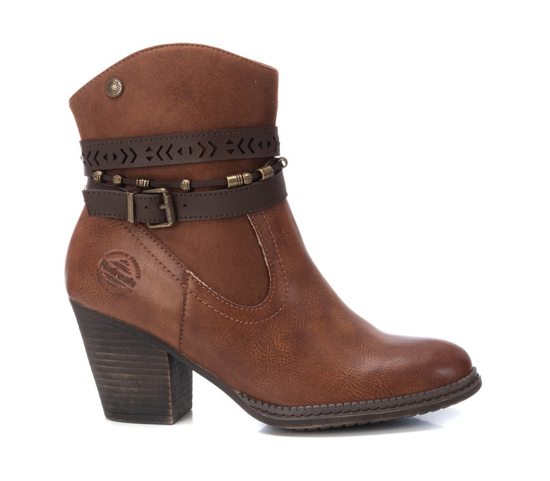 Refresh 72360 Tan Vegan A/Boots