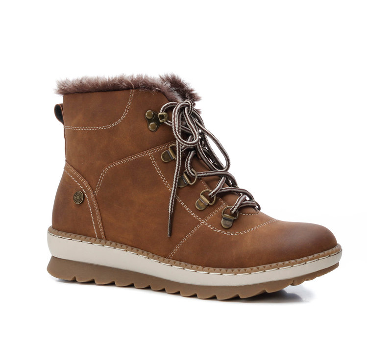 Refresh 72444 Tan Vegan A/Boots