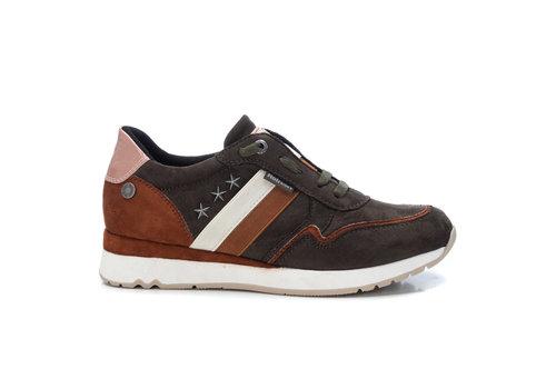 REFRESH A/W Refresh 72565 Khaki Vegan Sneaker
