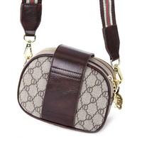 Peach P019 Brown 3 Zip Top Bag