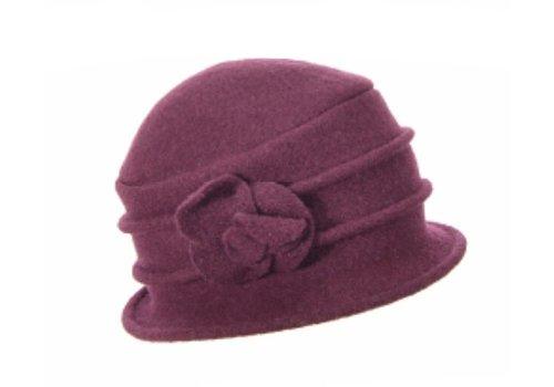 Seeberger Seeberger 018042/24 Wool Cloche Hat
