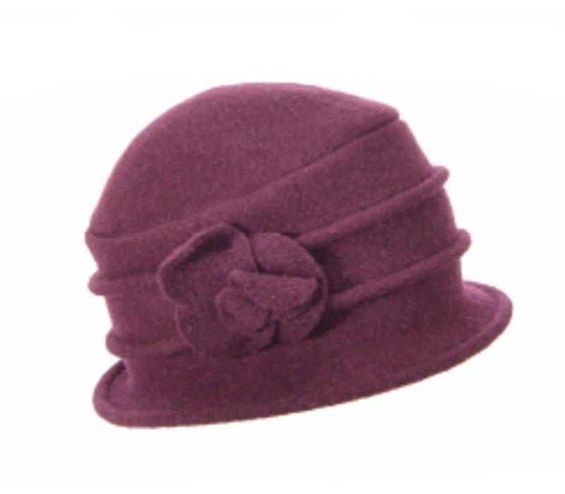 Seeberger 018042/24 Wool Cloche Hat