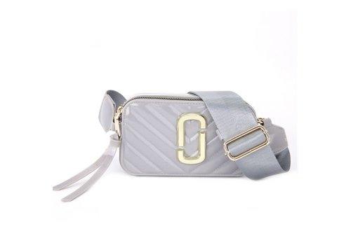 Peach Accessories Peach 9021-3 Silver crossbody bag