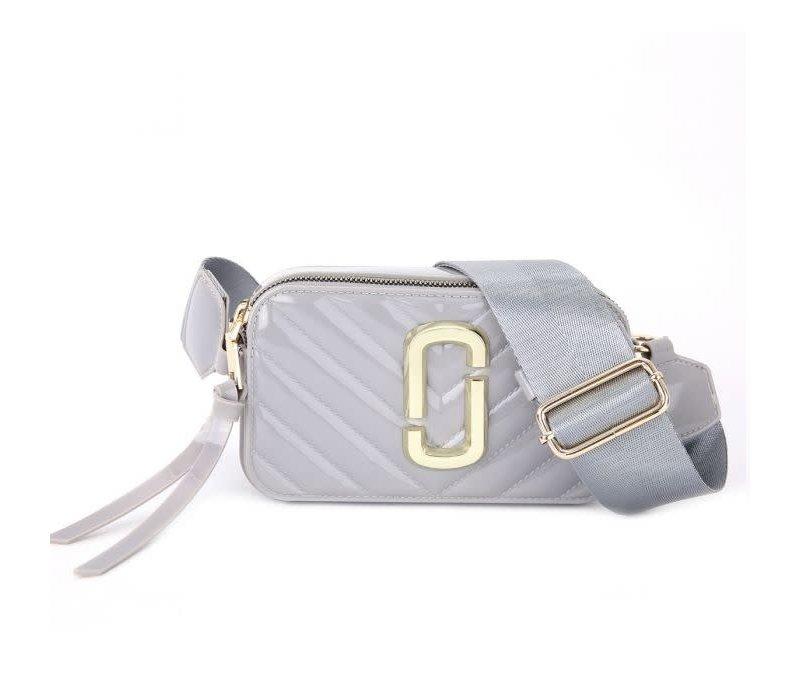 Peach 9021-3 Silver crossbody bag