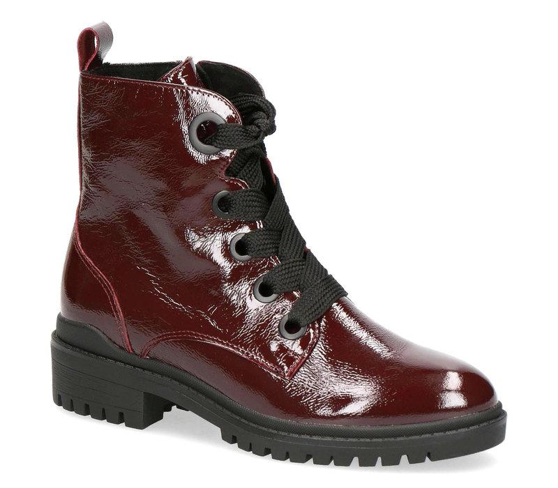 Caprice 25204 Bordeaux Patent Boots